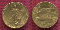 USA 20 Dollars Gold St. Gaudens Double Eagle USA 20 Dollars 1924 Gold St. Gaudens Typ, vz-prfr