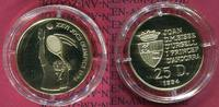 25 Diners  Goldmünze 1994 Andorra Andorra 25 Diners Gold 1994 Olympics ... 199,12 EUR  +  8,50 EUR shipping