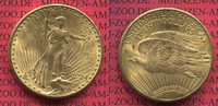 USA 20 Dollars Gold St. Gaudens Double Eagle USA 20 Dollars 1924 Gold St. Gaudens Typ Double Eagle vz-prfr.