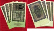 Inflation Dt. Reich 1919 - 1924 Lot 10 x 50.000 Mark Reichsbanknote 1923... 12,00 EUR