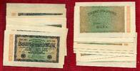 Inflation Dt. Reich 1919 - 1924 Lot  20 x   20.000 Mark Inflation Dt. Reich Lot 20 x 20.000 Mark 20.2.1923