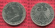 Bundesrepublik Deutschland 5 DM Silber Gedenkmünze 5 DM 1957 J, 100. Todestag von Joseph Freiherr von Eichendorff J. 391,