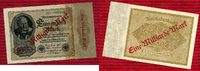 Inflation Dt. Reich 1919 - 1924 Lot  3 x  1 Milliarde Überdruck 1922/23 ... 12,00 EUR