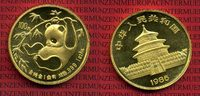 China 100 Yuan Panda, 1 Unze 1985 Stempelglanz China 1 Ounce Gold Panda ... 1749,00 EUR