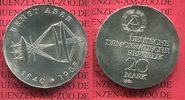 DDR Eastern Germany GDR 20 Mark Silbermünze DDR 1980 Stempelglanz DDR 20... 55,00 EUR