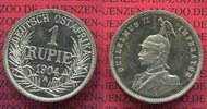 1 Rupie 1904 A Deutsch Ostafrika Deutsch Ostafrika 1 Rupie Silber 1909 ... 750,00 EUR