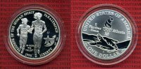 USA 1 Dollar Commemorative Silber 1995 Pol...
