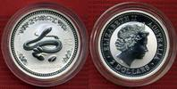 2 Dollars Lunar Schlange 2 Unzen 2001 Australien Australien 2 Unzen Sil... 149,00 EUR  +  8,50 EUR shipping