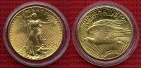 USA 20 Dollars Double Eagle St. Gaudens 1924 fast Stempelglanz USA 20 Do... 1499,00 EUR +  18,00 EUR shipping