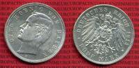 5 Mark 1913 Bayern Bayern 5 Mark 1913 D, König Otto, Kursmünze, Silber,... 80,00 EUR