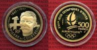 500 Francs Goldmünze 1992 Frankreich France Oly Albertville  Coubertin ... 640,00 EUR  +  8,50 EUR shipping