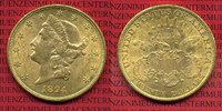 USA 20 Dollars Gold Double Eagle USA 20 Dollars 1894 Gold Liberty Frauenkopf  Typ Double Eagle