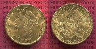 USA 20 Dollars Gold Double Eagle 1904 vz, ...