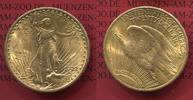 USA 20 Dollars Gold St. Gaudens Double Eagle USA 20 Dollars Double Eagle 1922 Gold St. Gaudens Typ vz-prfr.