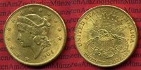 USA 20 Dollars Goldmünze Double Eagle 1904  vz USA 20 Dollars Liberty, F... 1299,00 EUR
