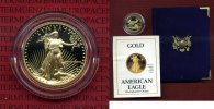 USA 10 Dollars Goldmünze Golden Eagle 1/4 1988 Polierte Platte mit Box u... 411,77 EUR