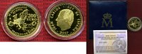 Spanien 200 Euro Gold Europa 2007 Polierte...