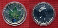 Kanada, Canada 5 Dollars Silber Maple Leaf...