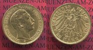 Preußen, Prussia German Empire 20 Mark Goldmünze Kursmünze 1905 J ss kl.... 355,00 EUR
