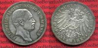 5 Mark Silbermünze 1914 Sachsen Sachsen 5 Mark 1914 E, Friedrich August... 150,00 EUR
