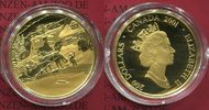 Kanada, Canada 200 Dollars Gold  Kanada 200 Dollars 2001 Gold, Krieghoff The Habitant Farm OVP