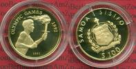 100 Tala Gold 1991 West Samoa West Samoa 100 Tala Gold Gold 1991 Olymis... 290.37 US$ 259,00 EUR  +  9.53 US$ shipping