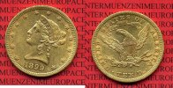 USA 10 Dollars Gold Liberty  Eagle 1899 se...