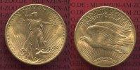 USA 20 Dollars Gold St. Gaudens USA 20 Dollars 1922 Gold St. Gaudens Typ, vz-prfr.