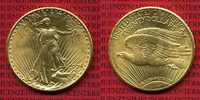 USA 20 Dollars Gold St. Gaudens Double Eagle 1924 vz-prfr, kl. rdf. USA ... 1379,00 EUR +  18,00 EUR shipping