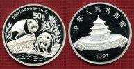 50 Yuan Silbermünze 1991 China China 50 Yuan Panda 1991 PP, 5 Unzen mit... 400,00 EUR390,00 EUR  +  8,50 EUR shipping