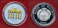 10 Dollars Skulpturmünze 2002 Nauru Nauru 10 Dollars 2002 Silber Brande... 155,00 EUR  +  8,50 EUR shipping