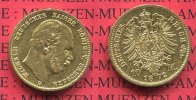 Preuen, State of Prussia German Empire 10 Mark Goldmnze Kursmnze Preuen 10 Mark Gold 1872 B J. 242 Wilhelm I.