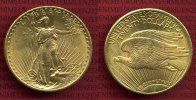 USA 20 Dollars Gold St. Gaudens Double Eagle 1924 vz-prfr USA 20 Dollars... 1399,00 EUR