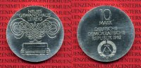 DDR 10 Mark DDR Silber Gedenkmnze 1982 St...