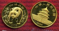China 100 Yuan Panda, 1 Unze 1986 Stempelglanz China 100 Yuan 1986 Gold ... 1749,00 EUR