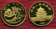 China 100 Yuan Panda, 1 Unze 1984 Stempelglanz China 100 Yuan 1984 Gold ... 1895,00 EUR