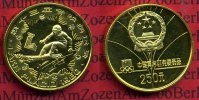China Volksrepublik PRC 250 Yuan  Goldmünz...