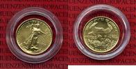 USA 5 Dollars Goldmünze Golden Eagle 1/10 USA 5 Dollars Gold Eagle 1999 1/10 Unze Stgl.