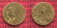 USA 2 1/2 Dollars Indian Head Goldmünze 1914 D vorzüglich USA 2 1/2 Doll... 360,00 EUR +  7,50 EUR shipping