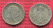 2 Mark Silber  1907 Baden  Baden 2 Mark 1907, Auf den Tod von Großerzog... 75,00 EUR  +  8,50 EUR shipping