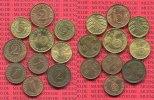 Lot von 10 Kleinmünzen in toller Erhaltung 1923-1939 III. Reich, Weimar... 75,00 EUR  +  8,50 EUR shipping