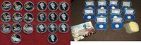 20 Dollar Silbermünzen mit Goldauflage 1990 Kanada, Canada Kanada 10 x ... 349,00 EUR285,00 EUR  +  15,00 EUR shipping