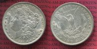 USA 1 Dollar Silber Morgan Typ 1884 O vz-p...