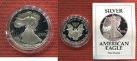 USA 1 Dollar Silver Eagle 1 Unze USA 1 Dollar 1991 Liberty Silver Eagle