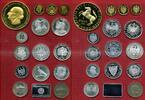 Medaillensuite Silber / Silber vergoldet 1871-2001 Deutschland Repliken... 283,58 EUR
