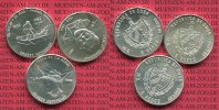 3 x 5 Pesos Silbermünze 1982 Kuba, Cuba Kuba 3 x 5 Pesos 1982  Ernest H... 65,00 EUR  +  8,50 EUR shipping