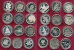 12 x 1 Unze Commemorative replicas o.J. USA Lot 12 x USA 1/2 Dollar Com... 520,00 EUR  +  8,50 EUR shipping