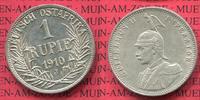 1 Rupie Silbermünze 1910 J DOA Deutsch Ostafrika Deutsch Ost-Afrika 1 R... 89,00 EUR  +  8,50 EUR shipping