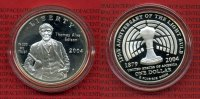 USA 1 Dollar Silber Proof 2004 PP mit Kaps...