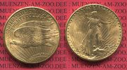 USA 20 Dollars Gold St. Gaudens Double Eagle USA 20 Dollars 1924 Gold St. Gaudens Typ Double Eagle